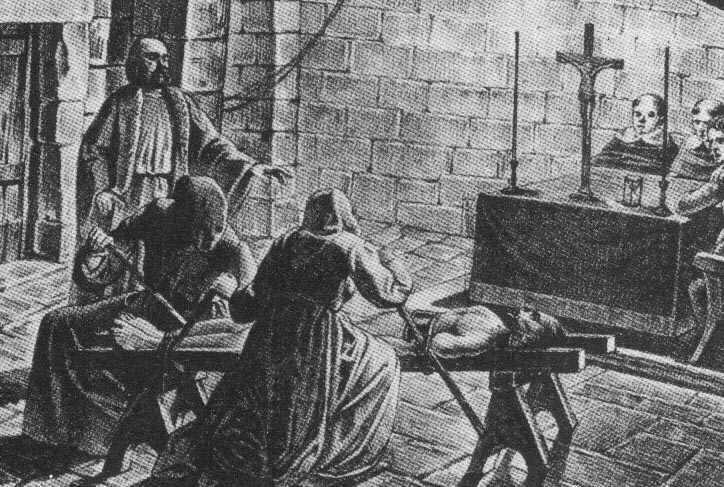 La Inquisición española TormentoDelGarrote02